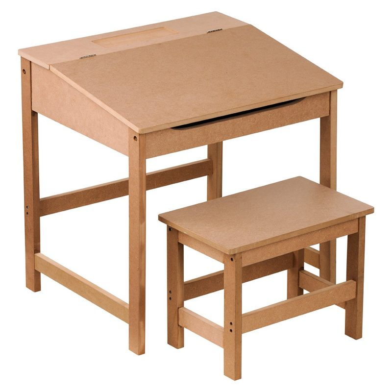 Premier Housewares Childrens Desk And Stool Set