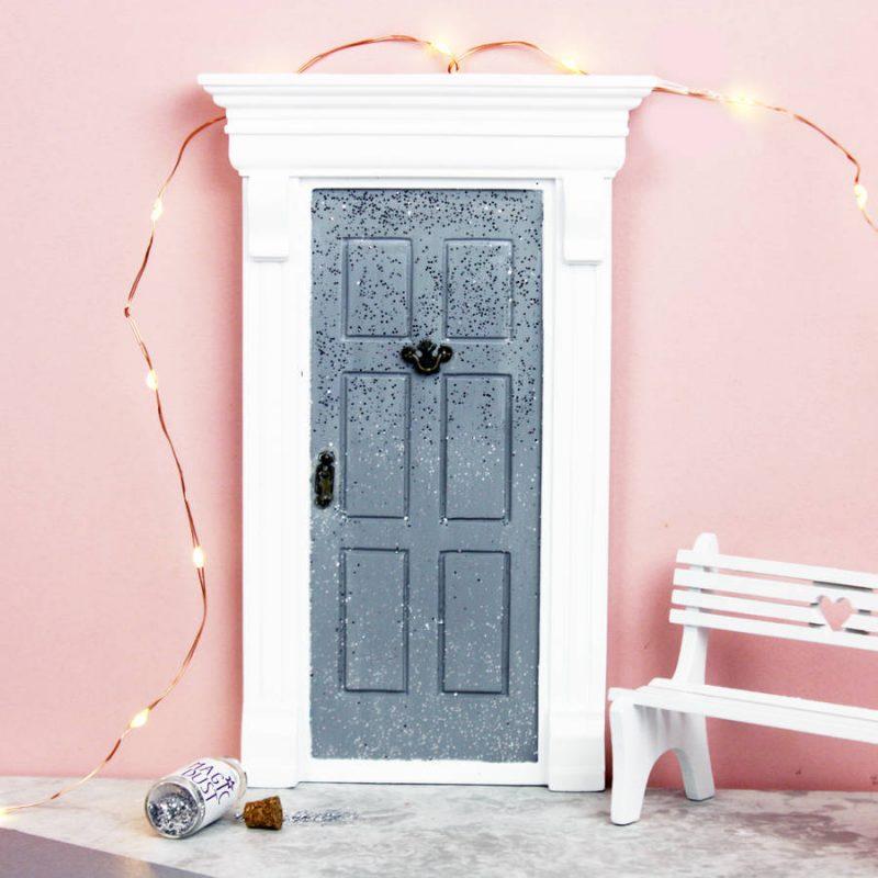 Sparkly fairy door