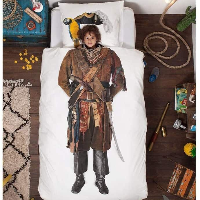 Pirate themed bedding set