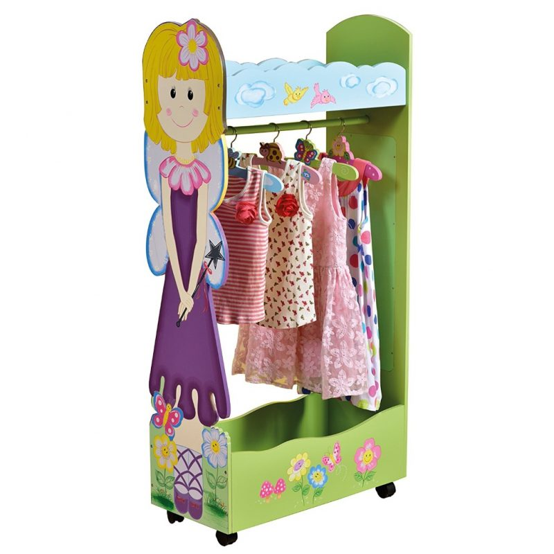 Fairy theme dress-up rail