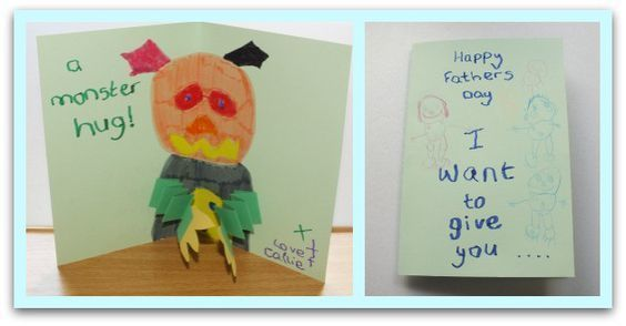 Monster Hug Father's Day Card