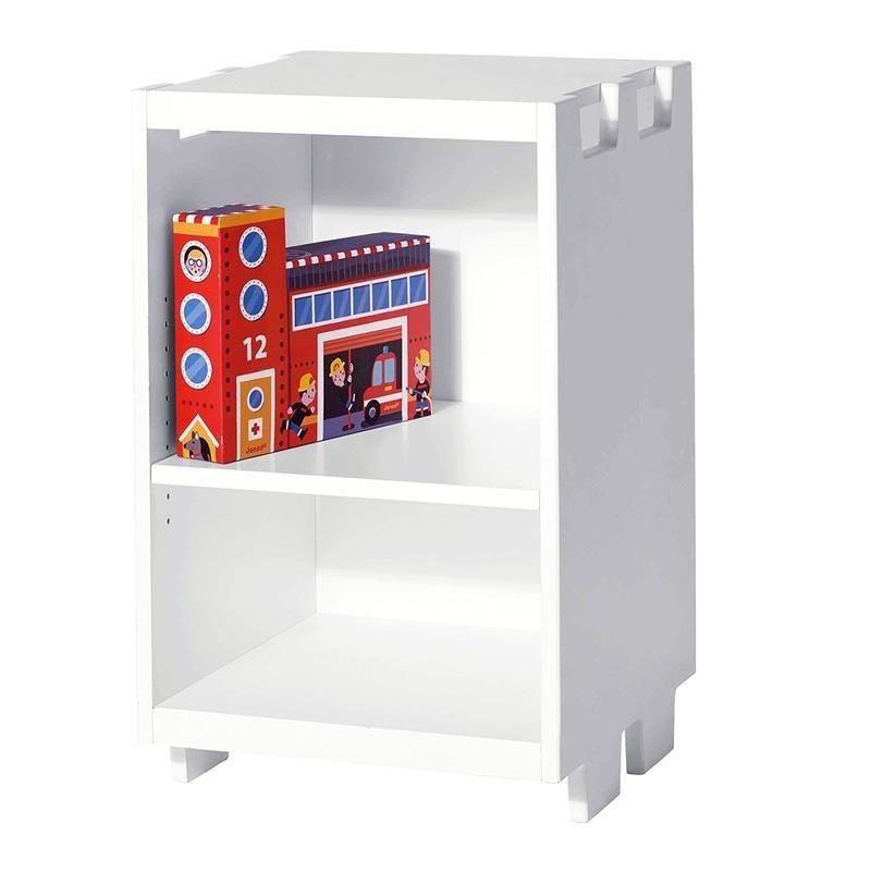 2 tier skinny shelf unit