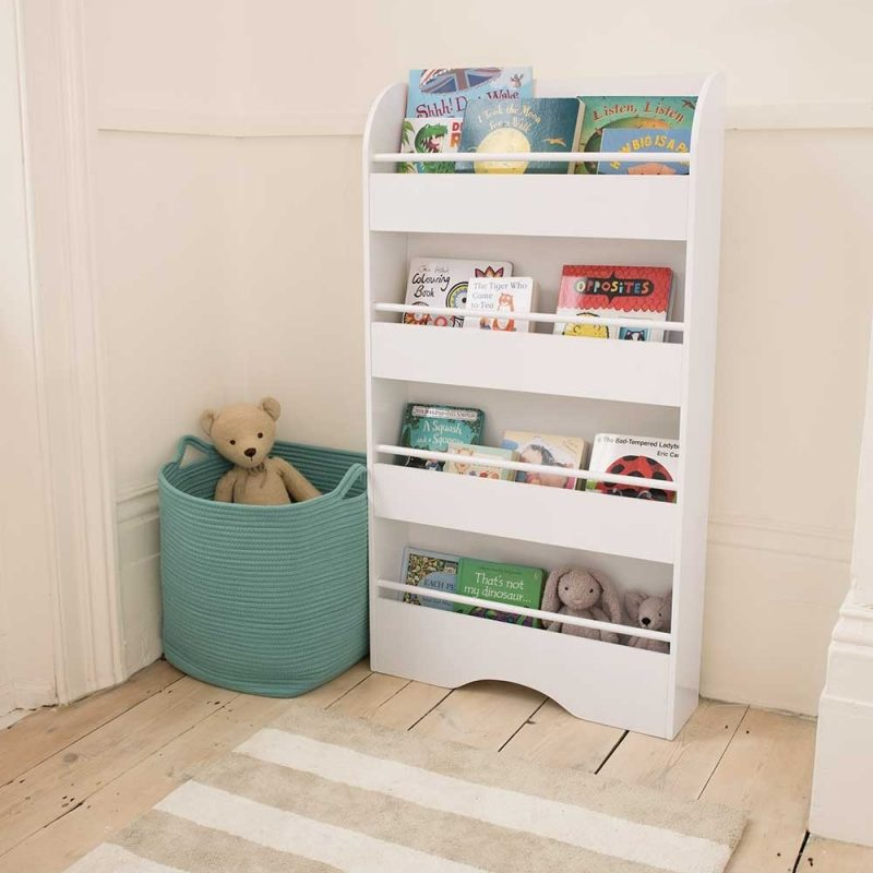 4 tier gallery style bookcase