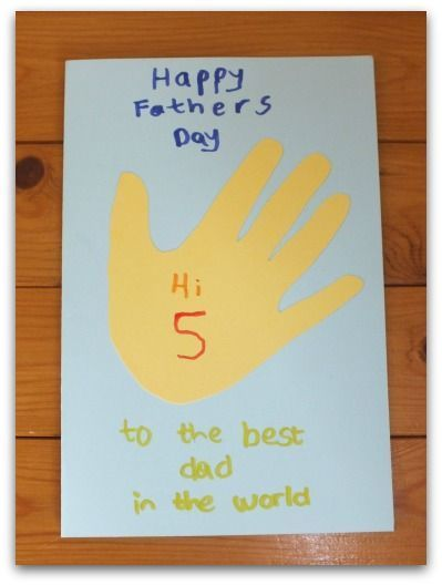 Hi 5 Father's Day Card