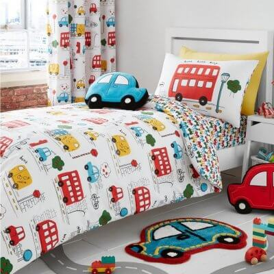 Car Themed Bedding