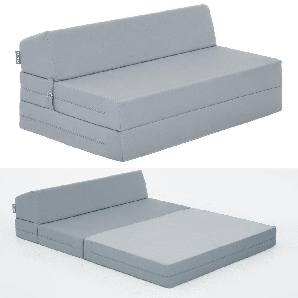 Wide fold-out chair bed