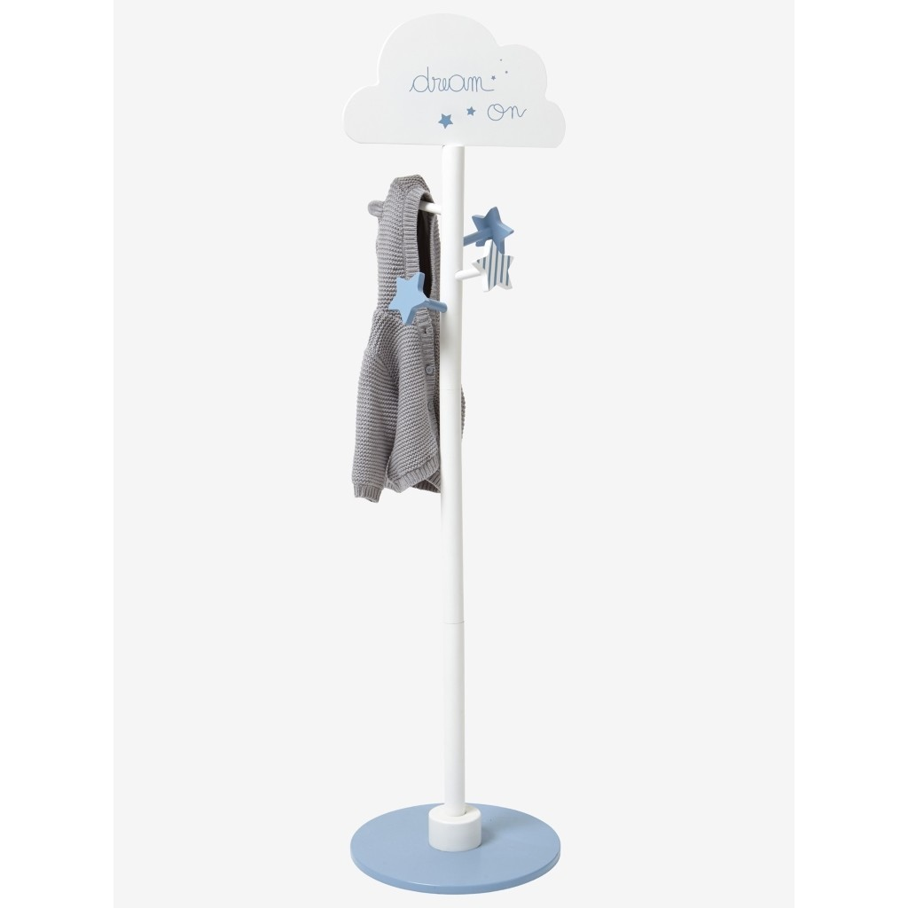 Cloud theme coat stand