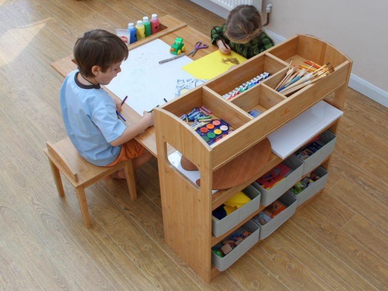 Top quality children's craft table set