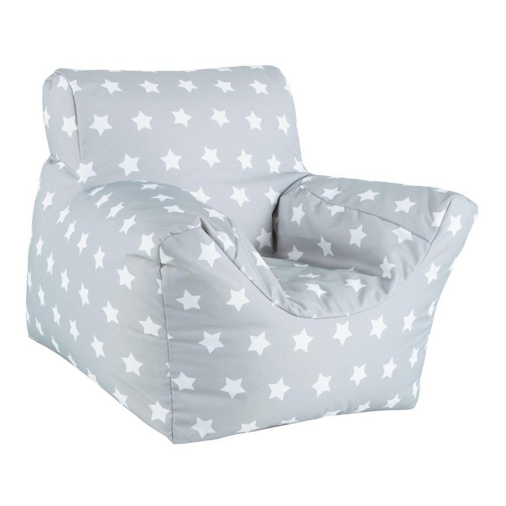 KAIKOO Grey Star Bean Chair