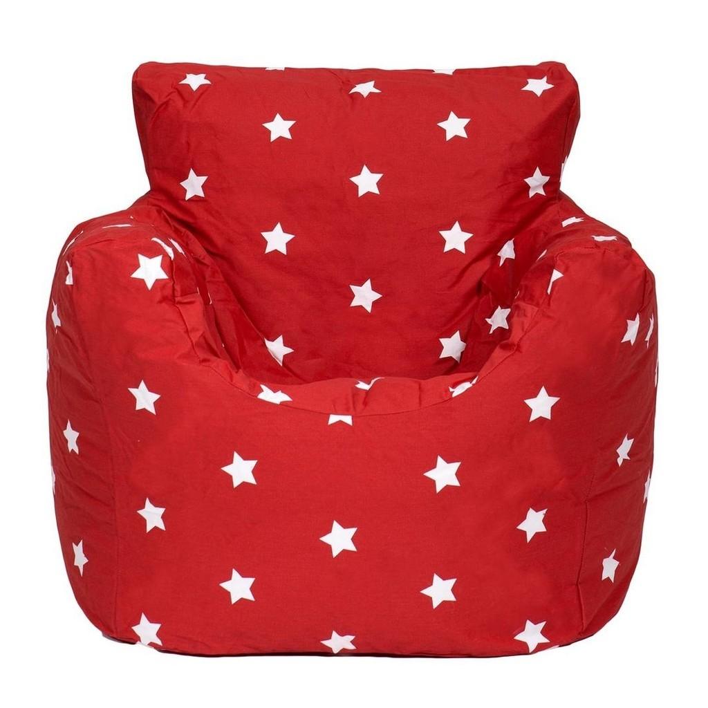 KAIKOO Red Star Bean Chair