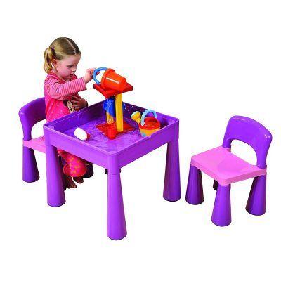Purple play table