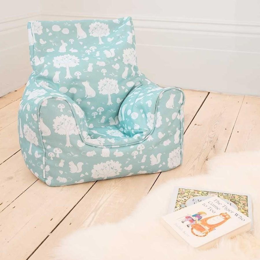 Woodland theme bean bag chair