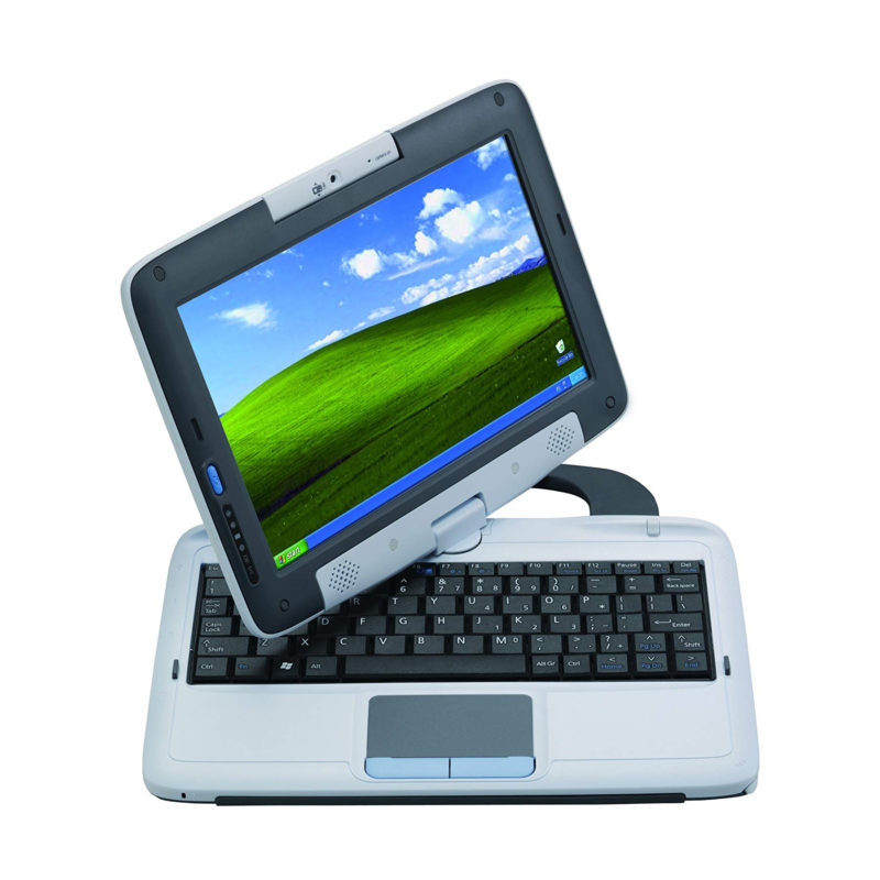 Kid's laptop with rotating screen