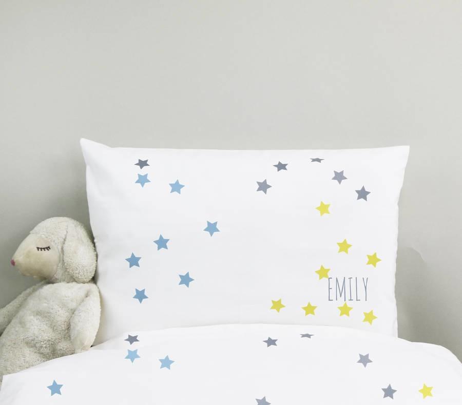Personalised kids bedding