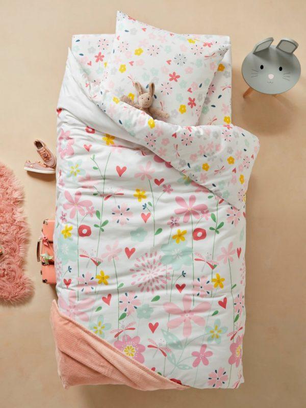 Pretty floral bedding set