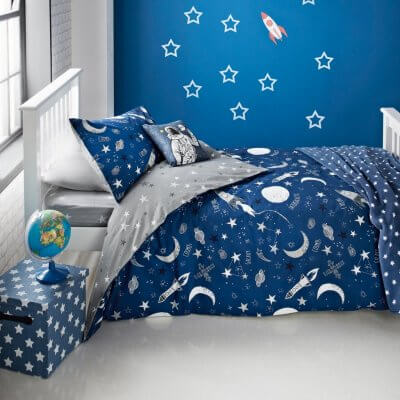 Space Theme Bedding