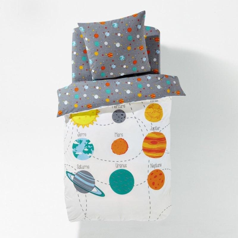 Planets theme bedding
