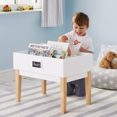 Table style bookcase