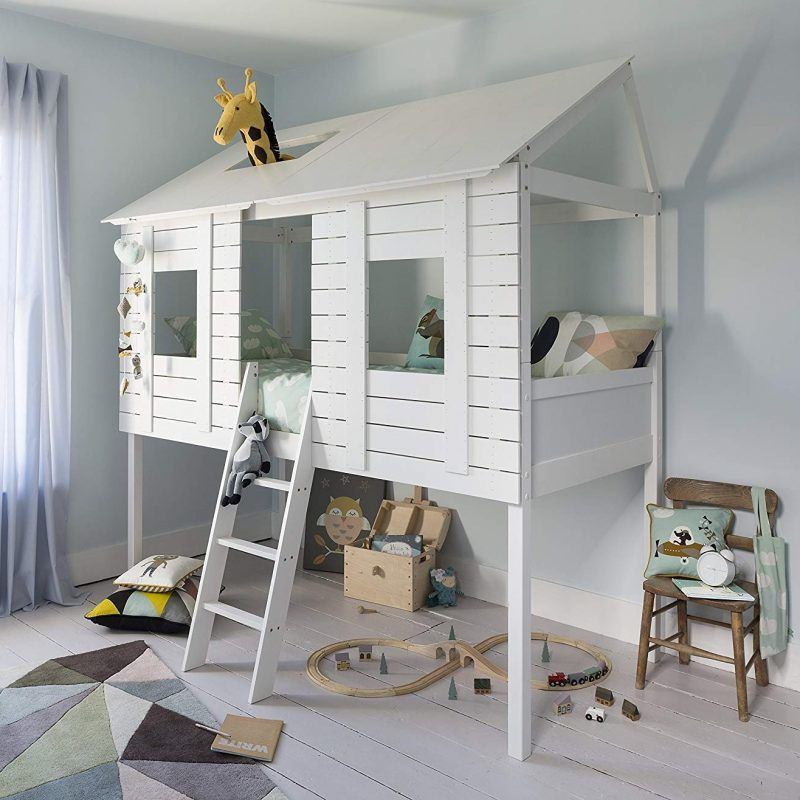 Treehouse theme kids bed