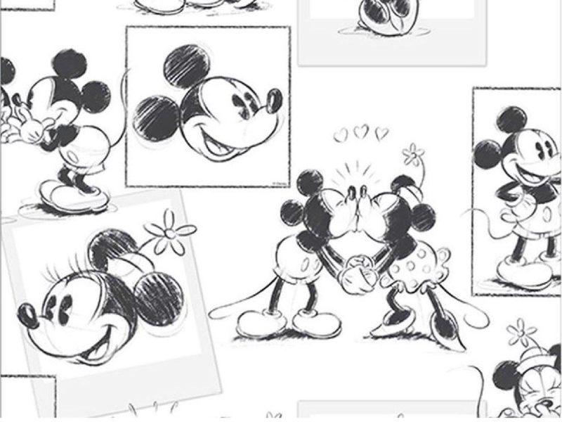 Vintage Disney themed wallaper