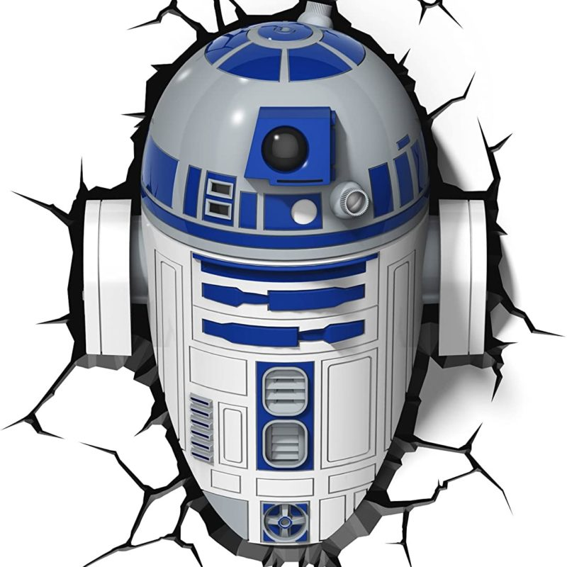 R2D2 Wall Light