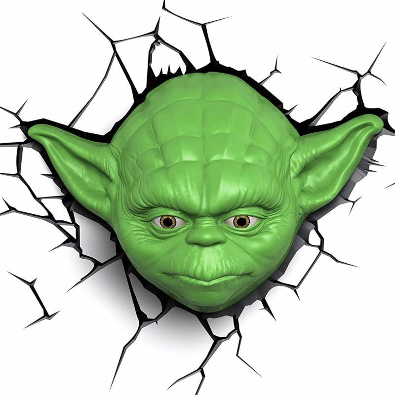 Yoda Wall Light