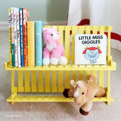 DIY book caddy