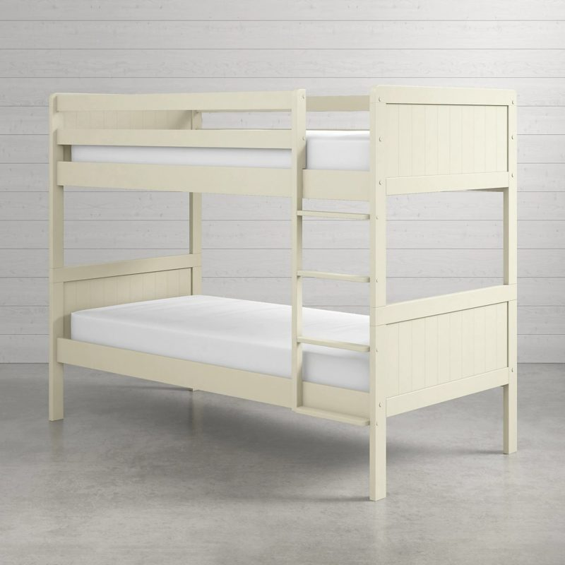 Cream painted bunk beds