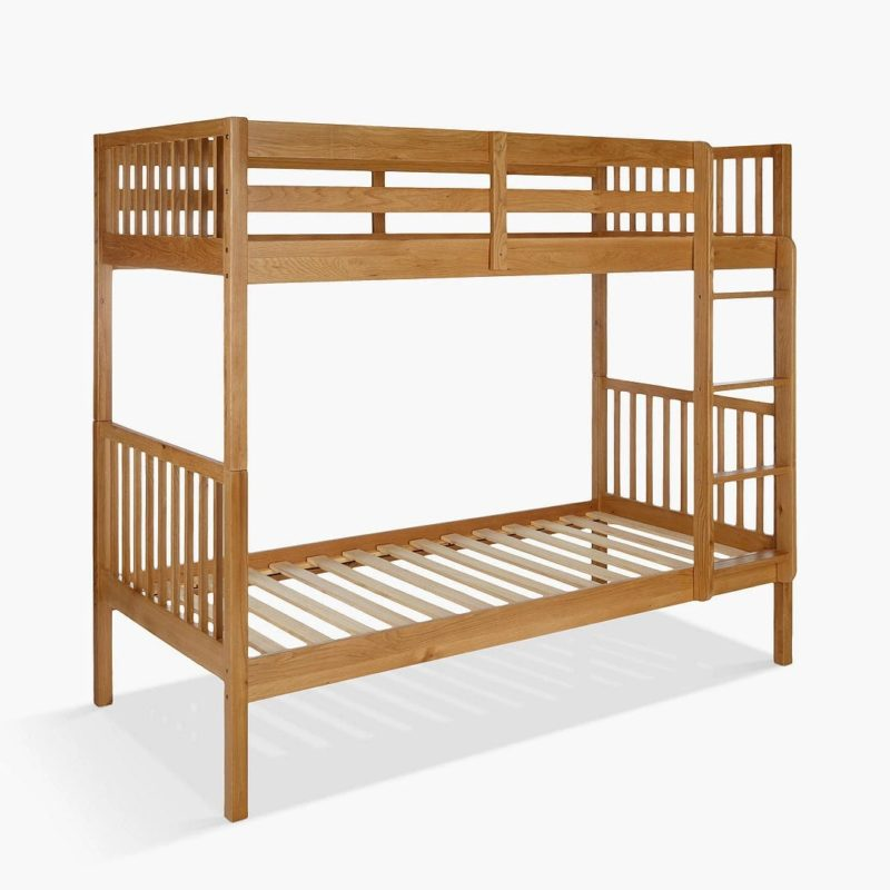 Bunk bed with extra headroom