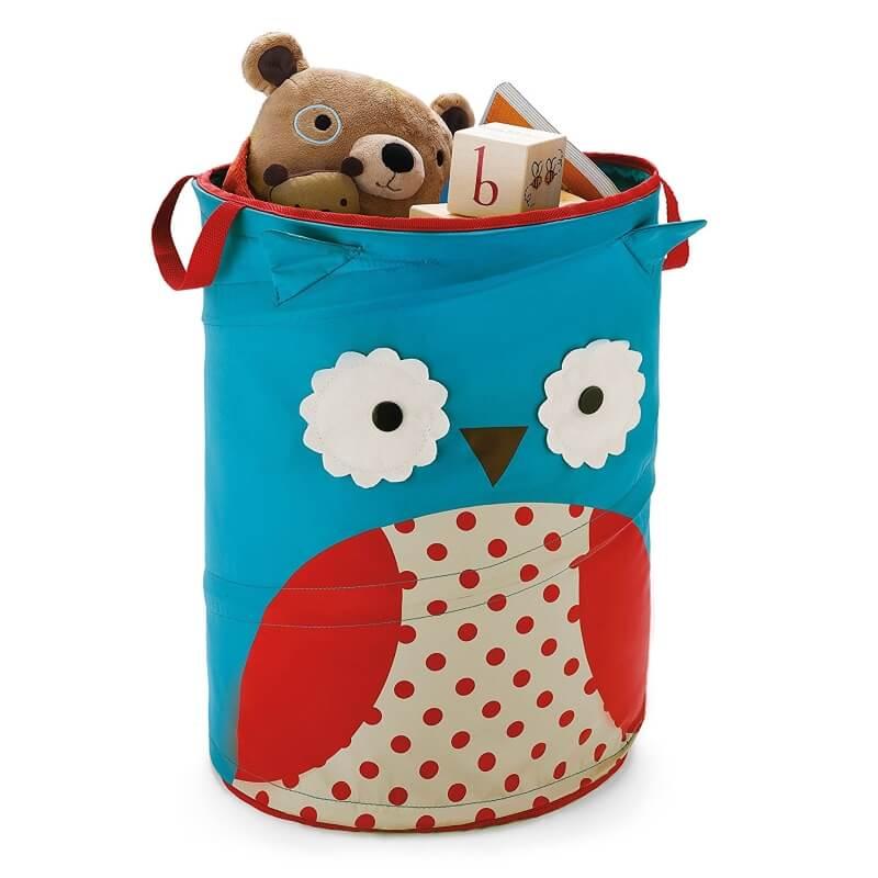 Owl themed storage hamper