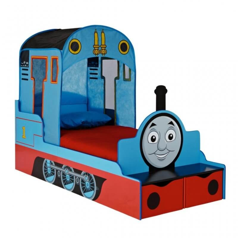 Thomas the Tank Engine themed toddler bed