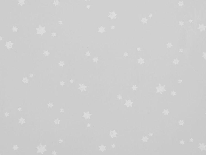 Ki'ds white star wallpaper on a grey background