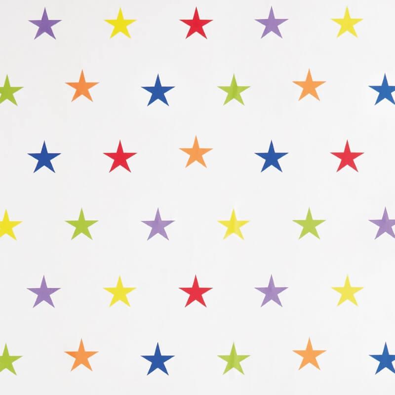 Multi-coloured stars wallpaper