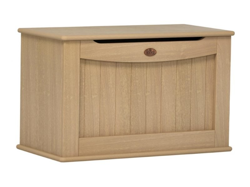 Toy chest with an almond colour finish