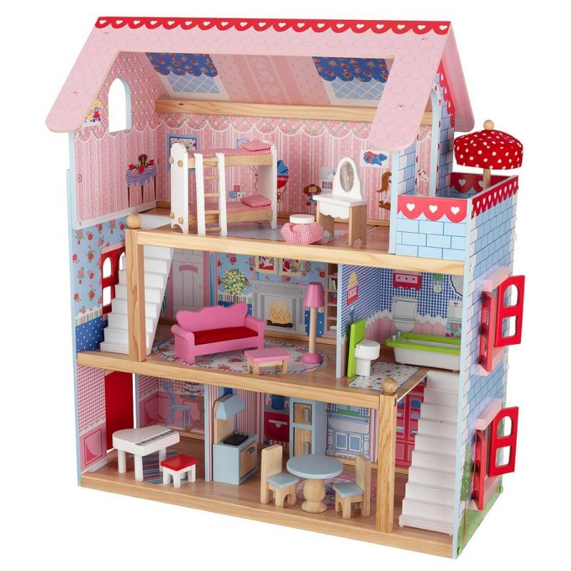 Open plan style doll's house
