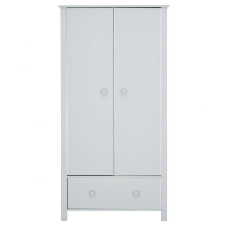 Grey painted kid's wardrobe