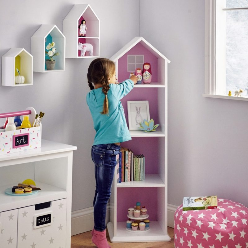 Townhouse Style Bookcase and Shelves