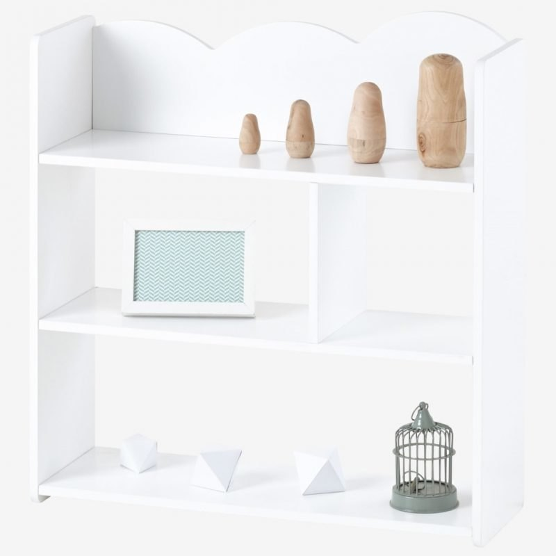 2-tier cloud theme wall shelves