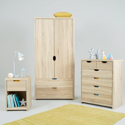 Oak effect children's furniture