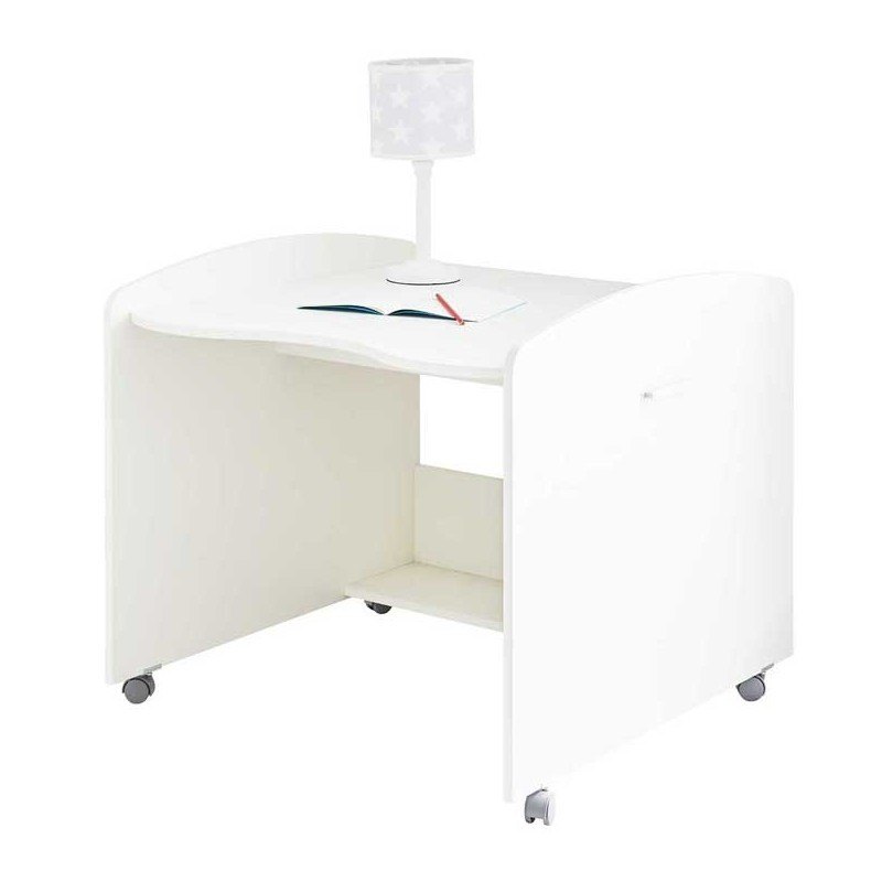 Roll-out desk