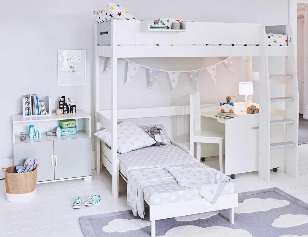 Kid's High-Sleeper Bed