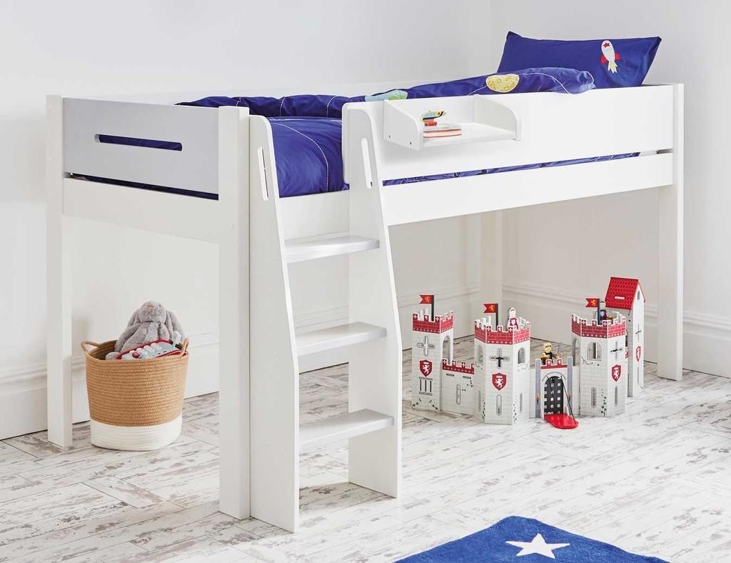 Kid's mid sleeper bed