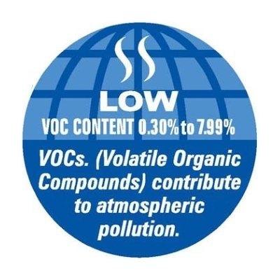 Low Voc Paint Label