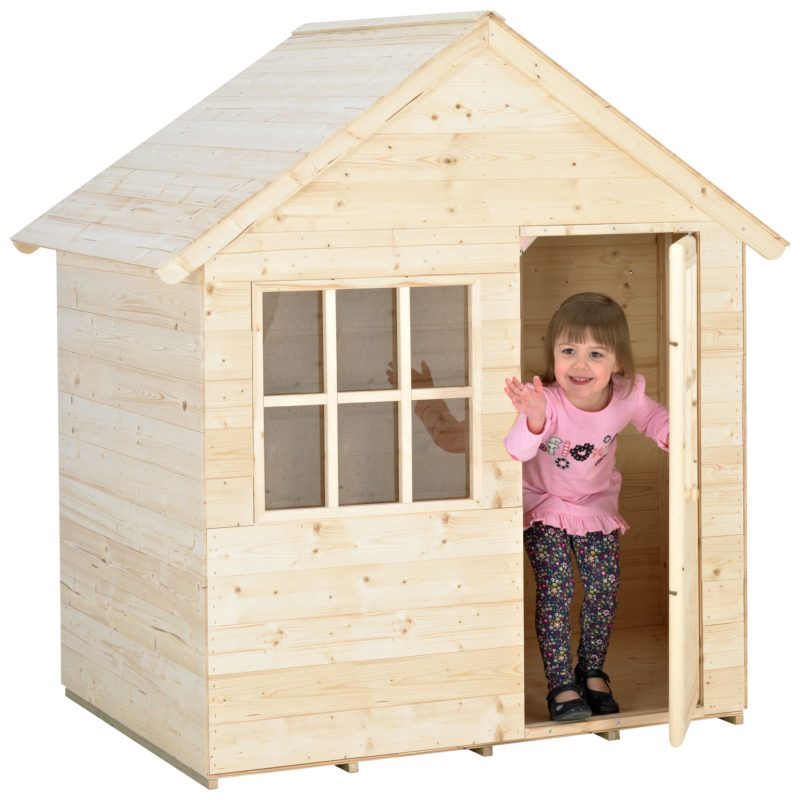 Budget outdoor playhouse