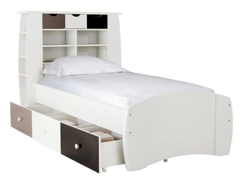Children's storage bed