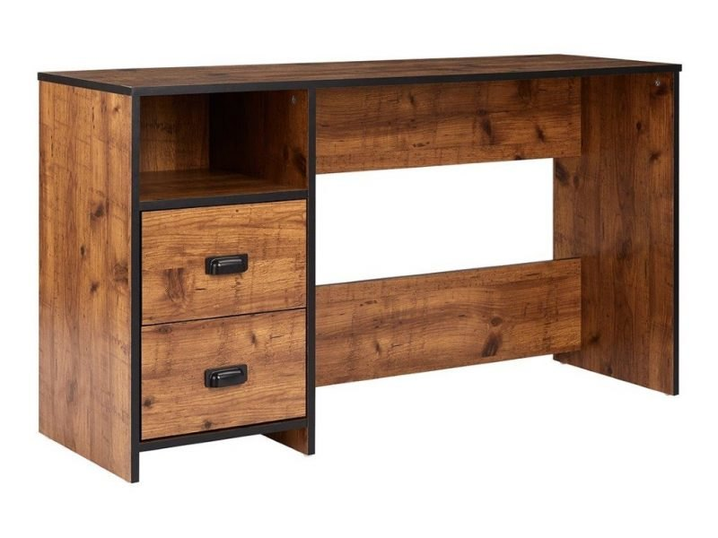 Rustic pine kid's desk