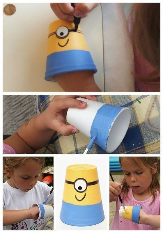 How to make minions water shoot game