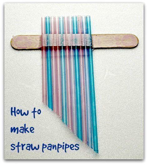 Straw Panpipes