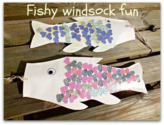 Fish windsocks
