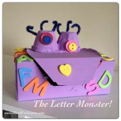 Monsters alphabet game